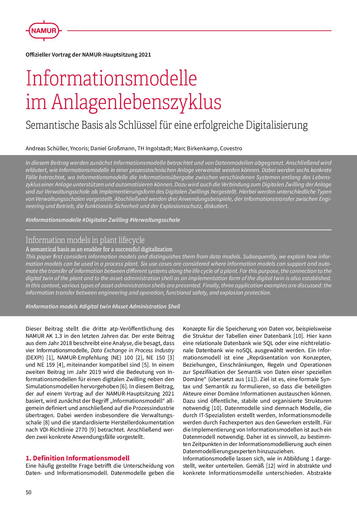 Durchgängiges PLT-Engineering