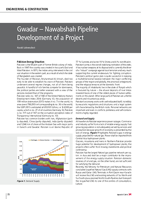 Gwadar – Nawabshah Pipeline Development of a Project