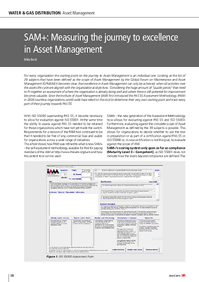 SAM+: Measuring the journey to excellence in Asset Management