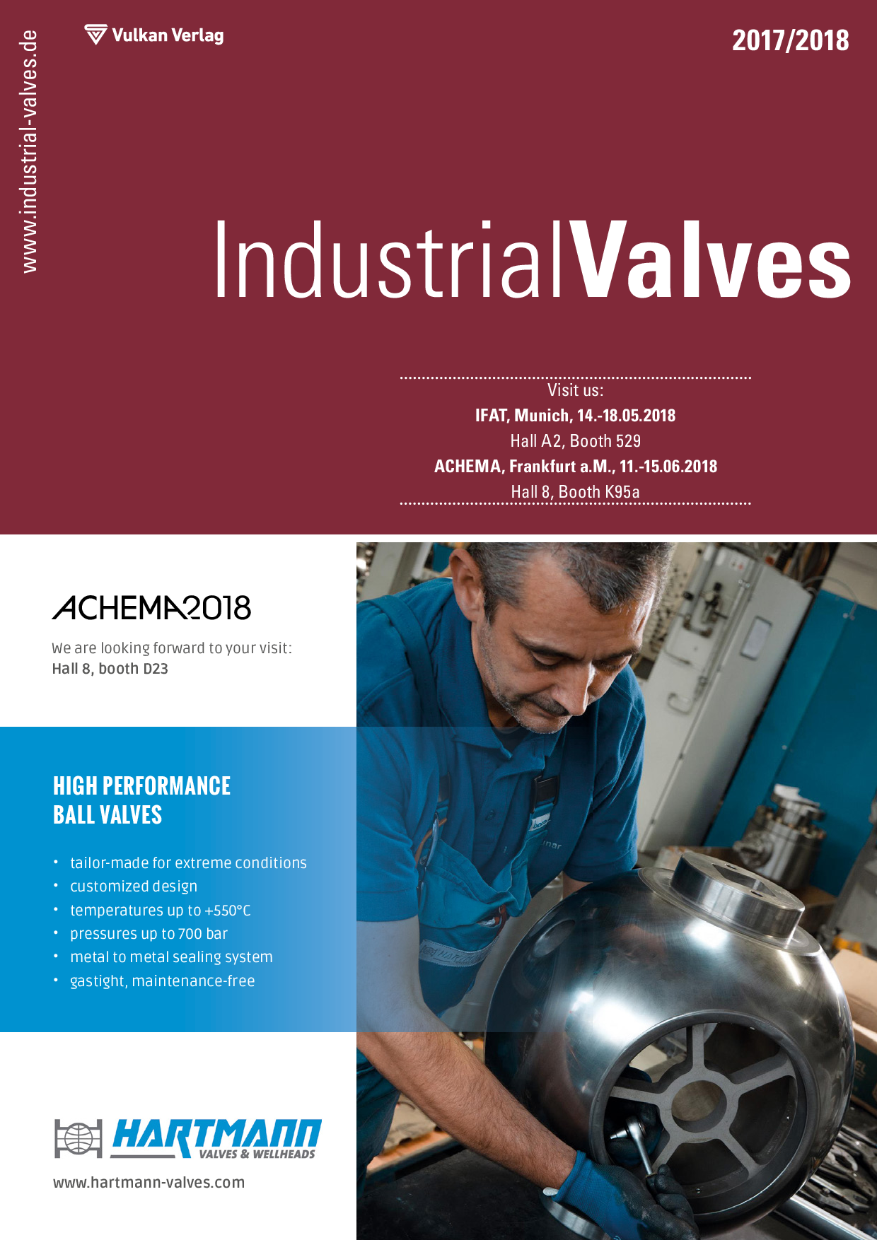Industrial Valves – 2017/2018