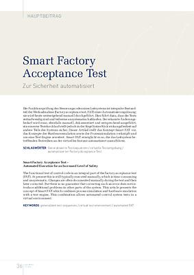 Smart Factory Acceptance Test