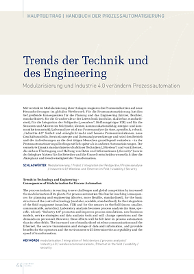 Trends der Technik und des Engineering