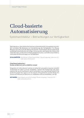 Cloud-basierte Automatisierung