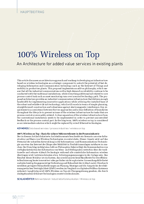 100% Wireless on Top