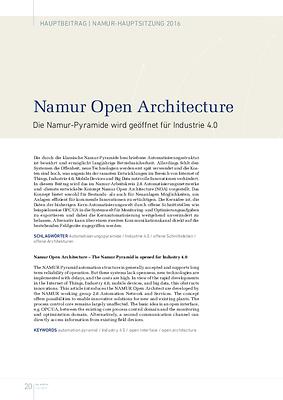 Namur Open Architecture
