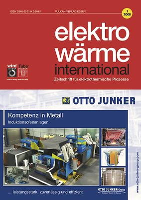 ewi – elektrowärme international – Ausgabe 01 2008