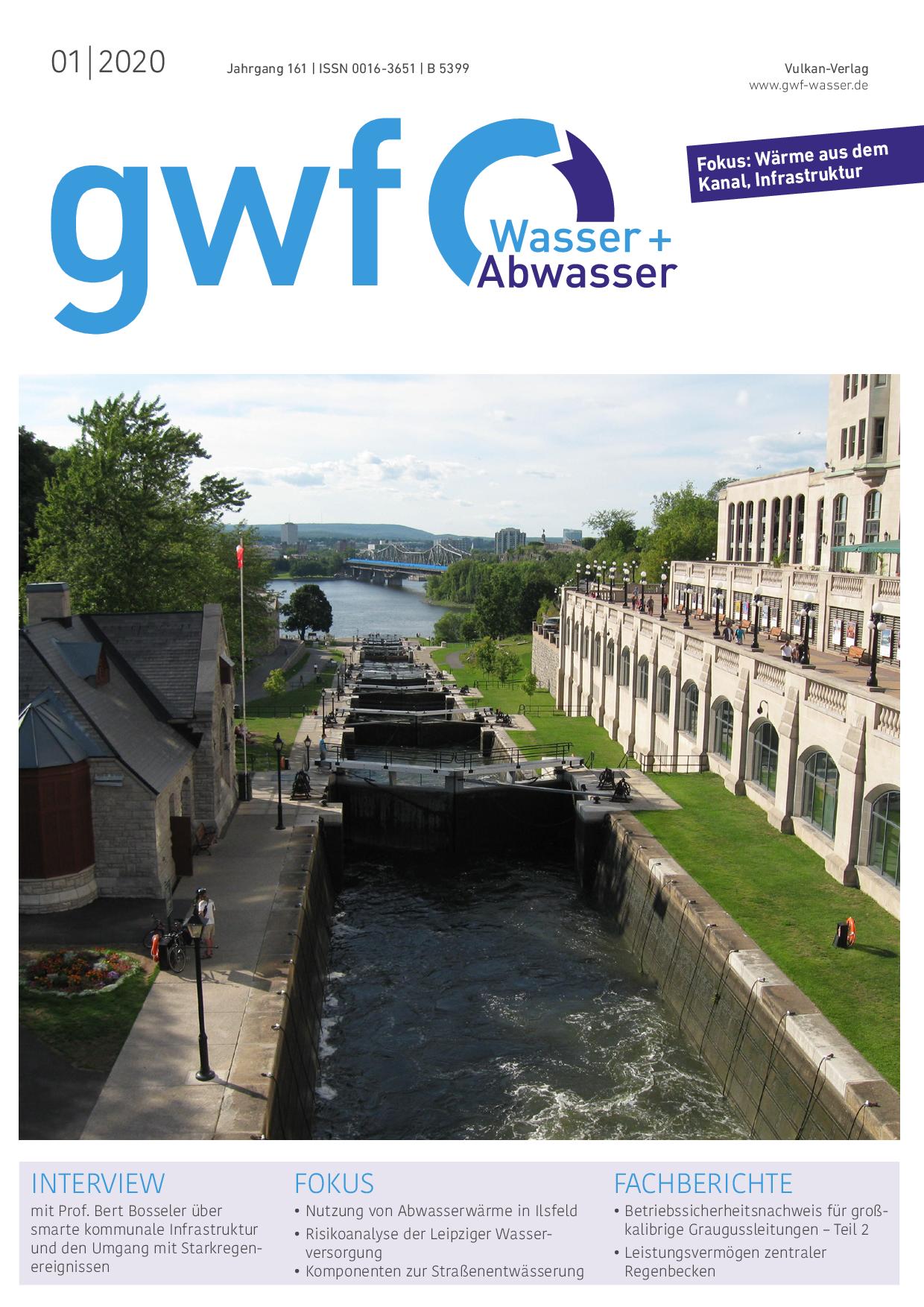 gwf – Wasser|Abwasser – 01 2020