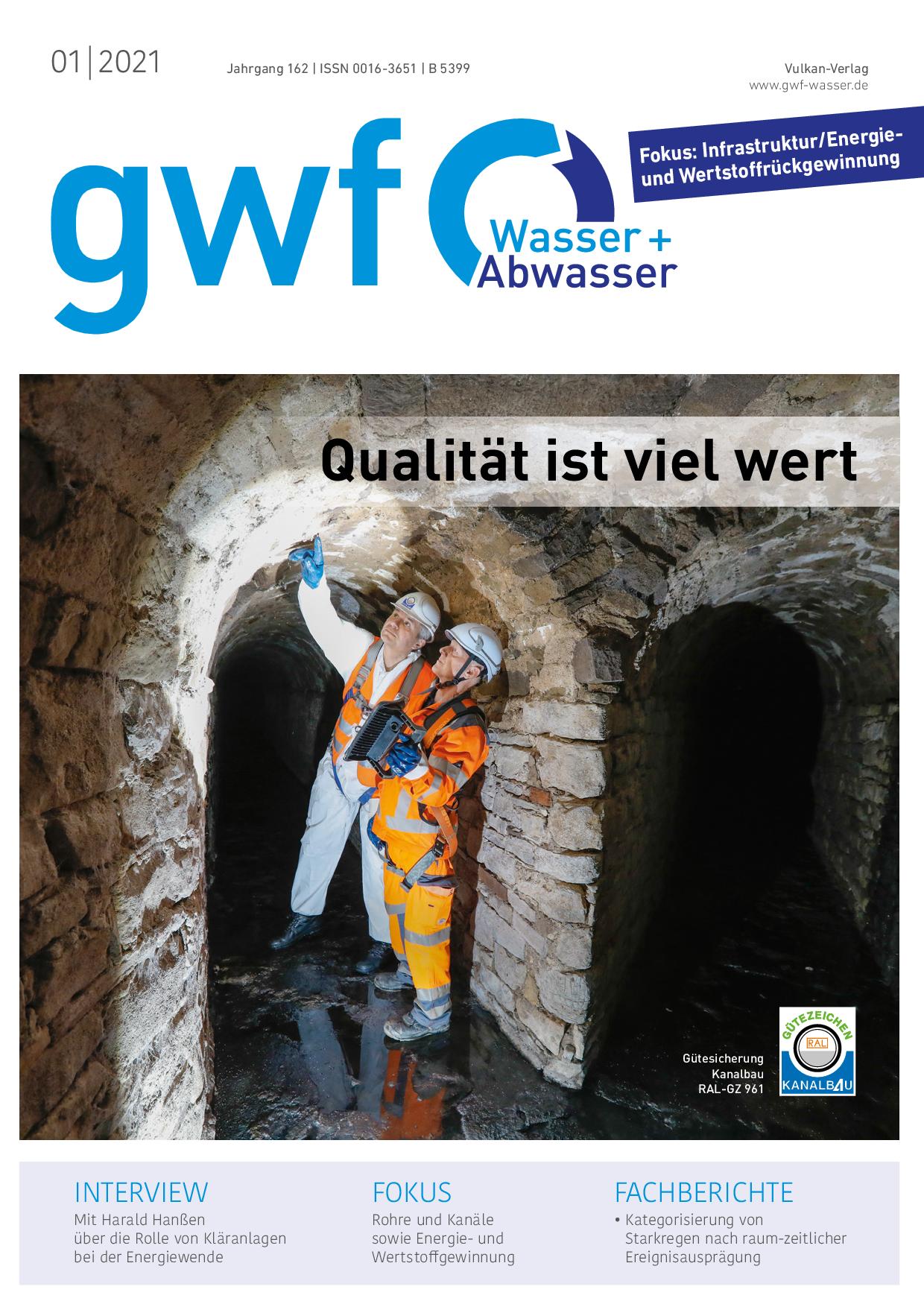 gwf – Wasser|Abwasser – 01 2021