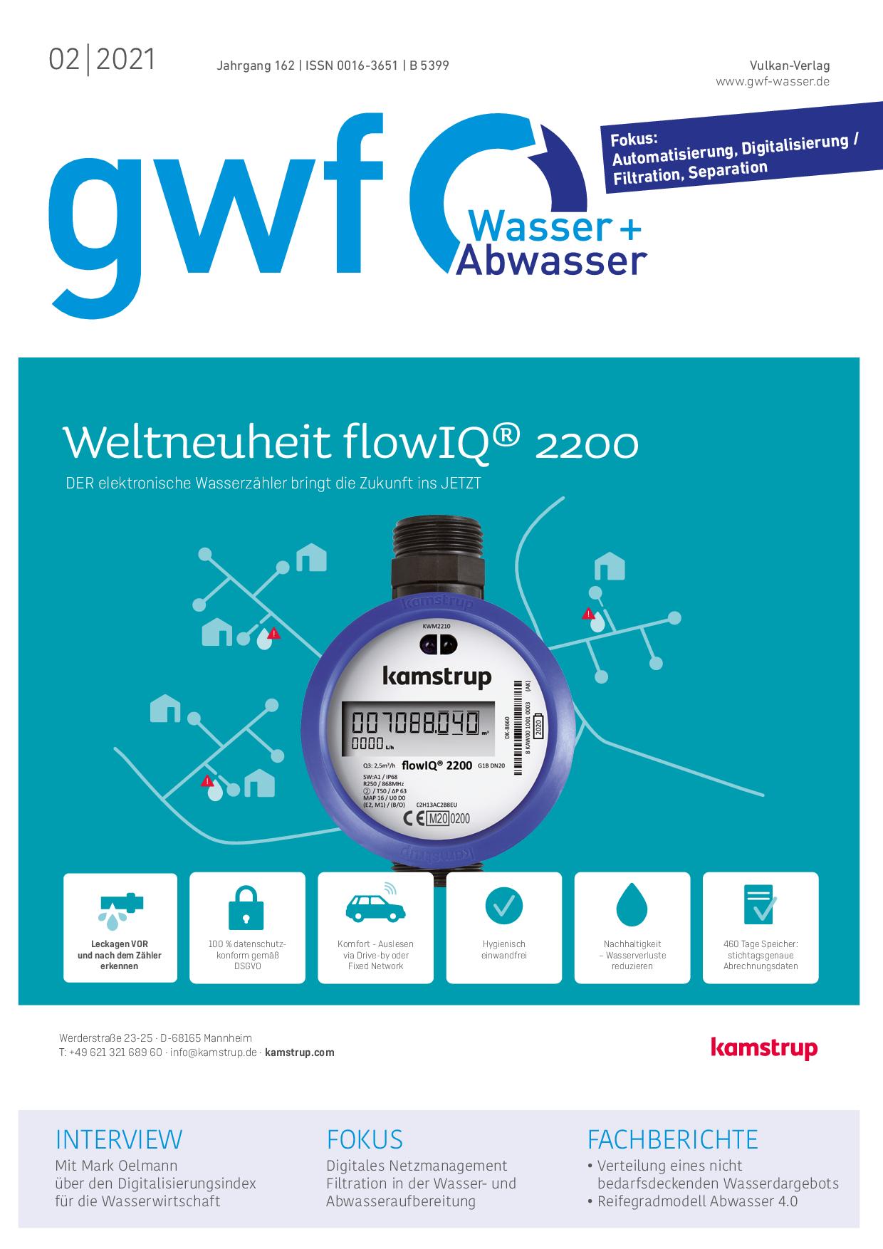 gwf – Wasser|Abwasser – 02 2021