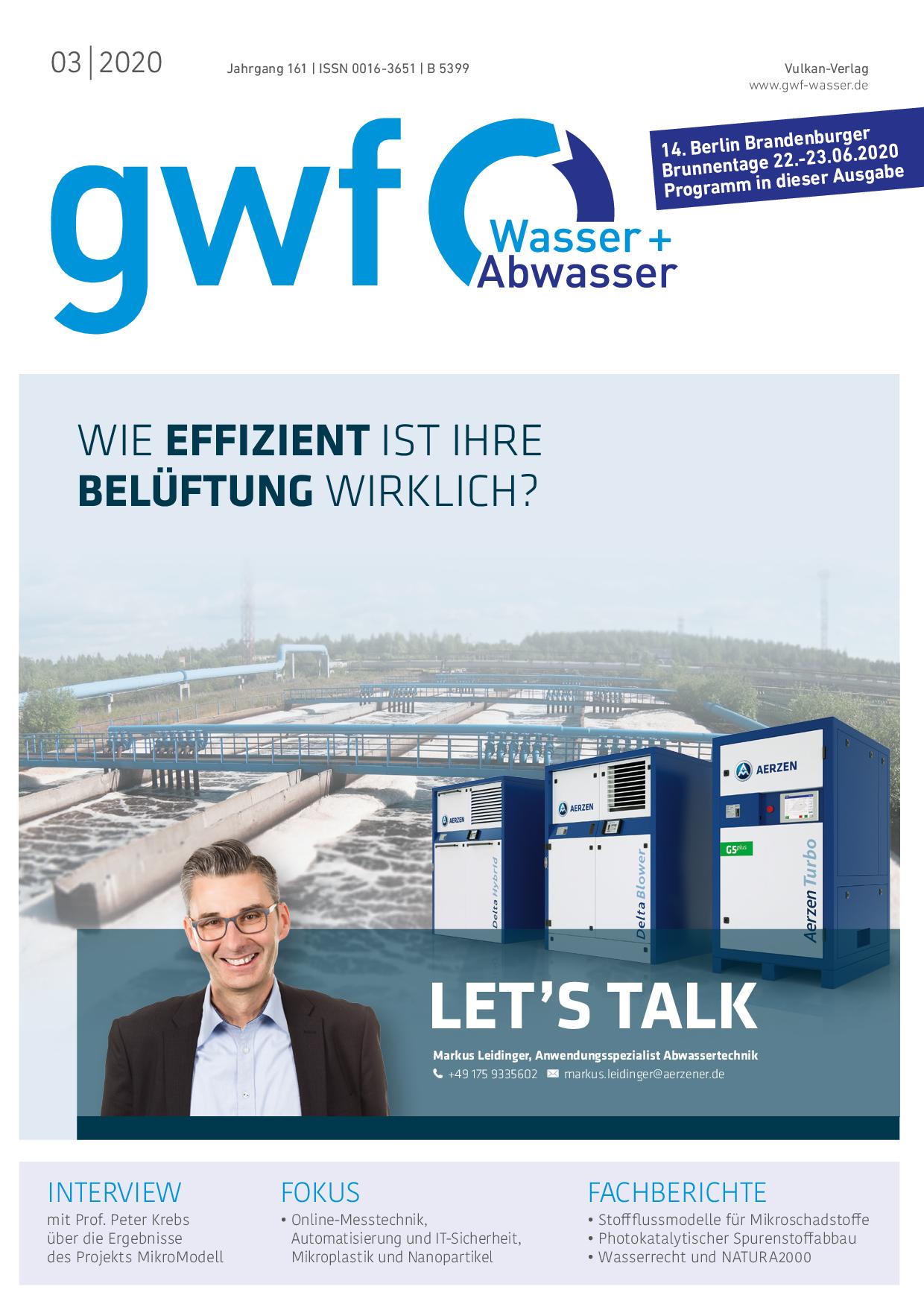 gwf – Wasser|Abwasser – 03 2020