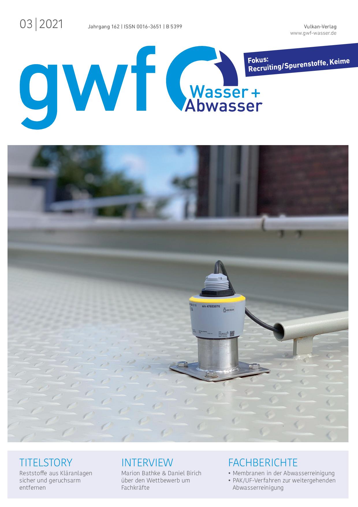 gwf – Wasser|Abwasser – 03 2021