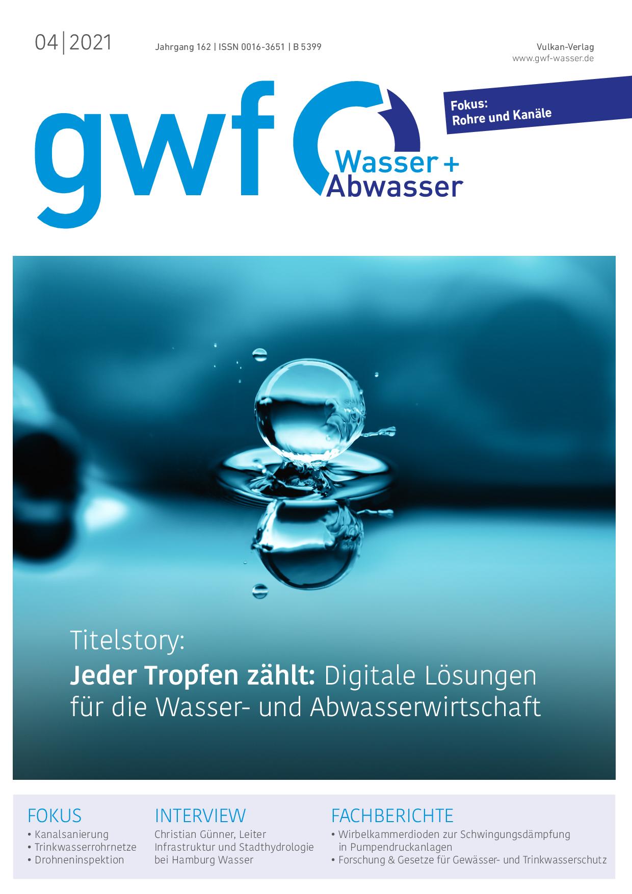 gwf – Wasser|Abwasser – 04 2021