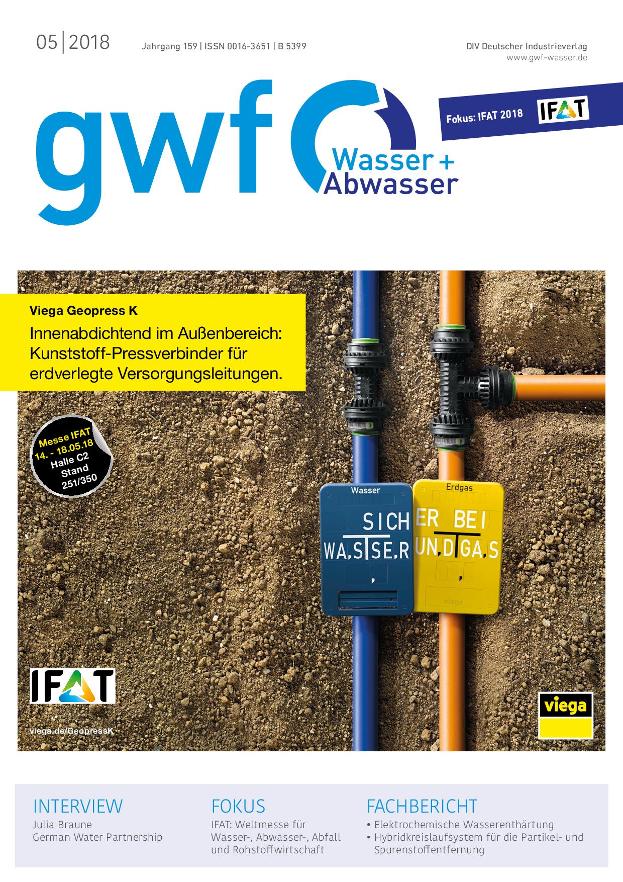 gwf – Wasser|Abwasser – 05 2018