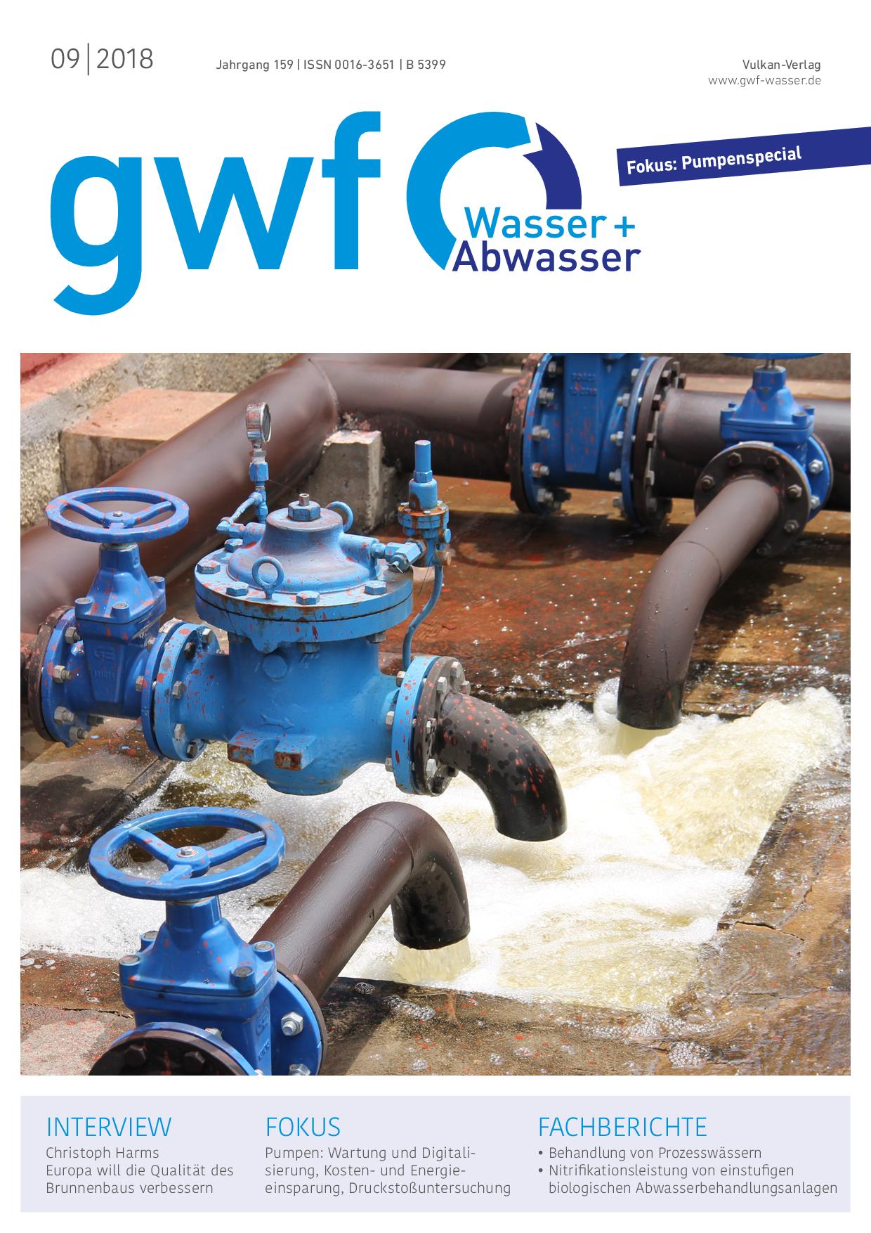 gwf – Wasser|Abwasser – 09 2018