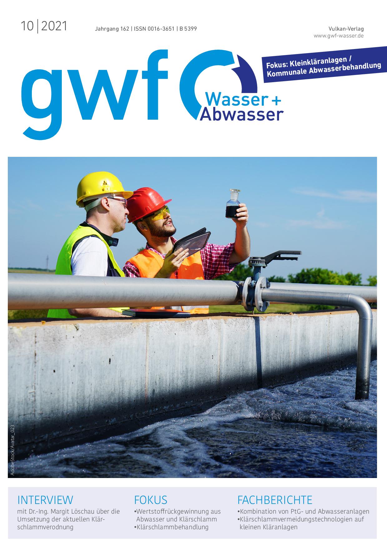 gwf – Wasser Abwasser – 10 2021