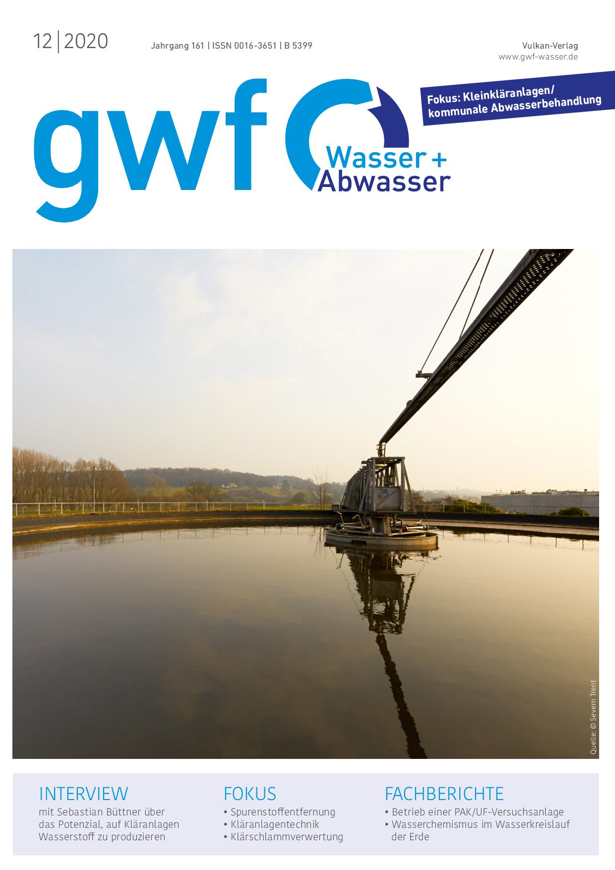 gwf – Wasser|Abwasser – 12 2020