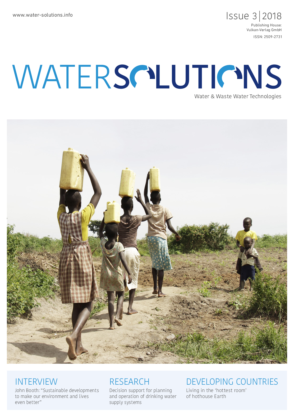 Water Solutions – 03 2018