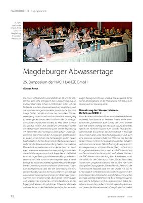 Magdeburger Abwassertage