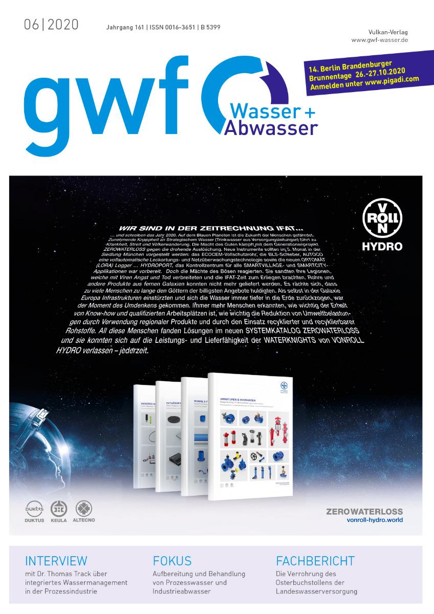 gwf – Wasser|Abwasser – 06 2020