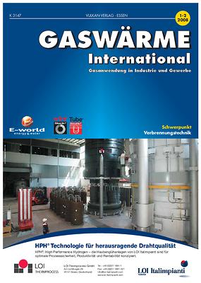 gwi – gaswärme international – Ausgabe 01-02 2008