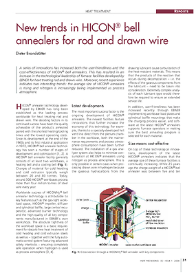 New trends in HICON® bell annealers for rod and drawn wire