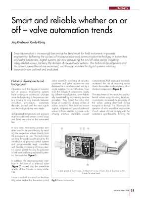 Smart and reliable whether on or off – valve automation trends
