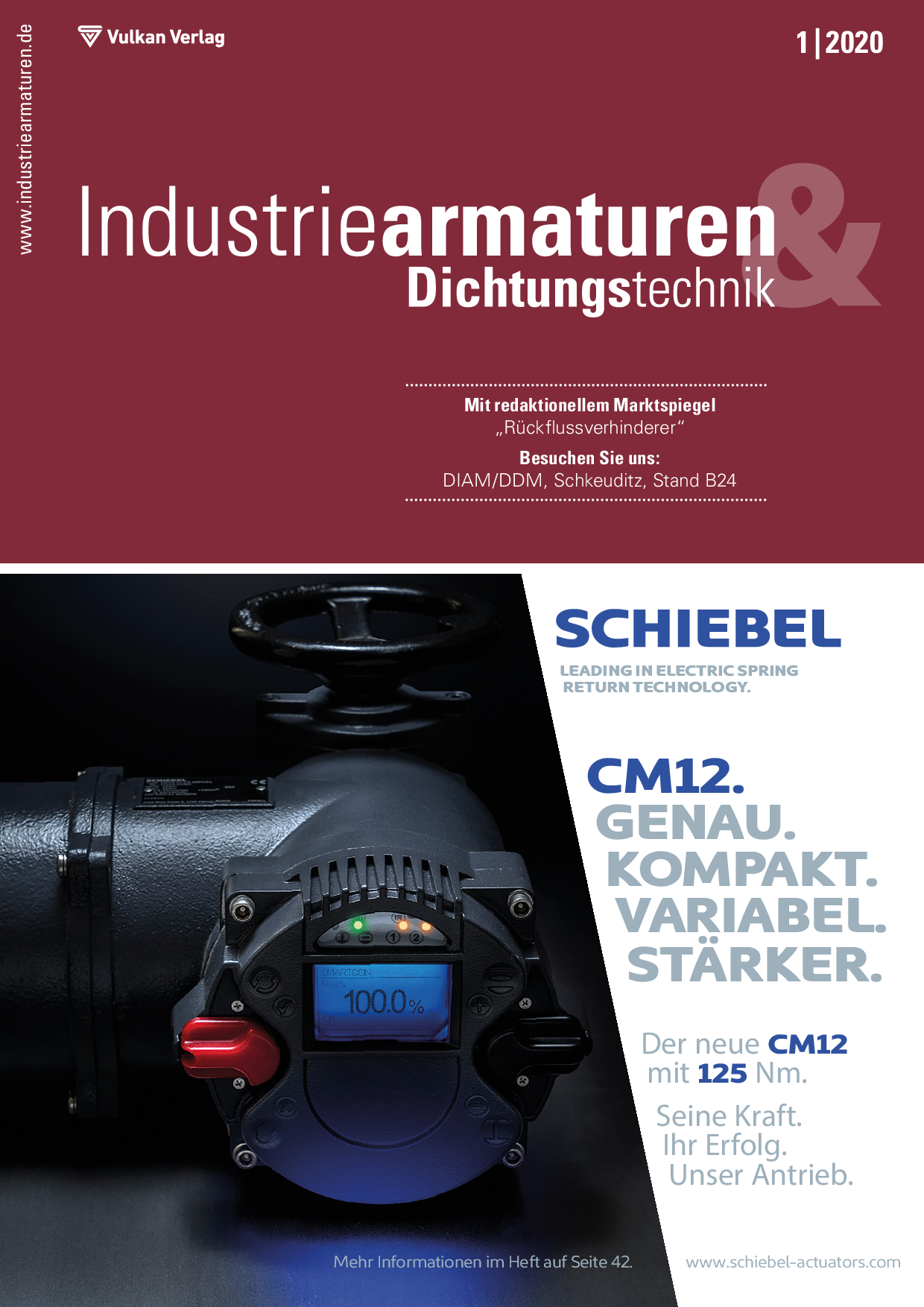 Industriearmaturen – 01 2020