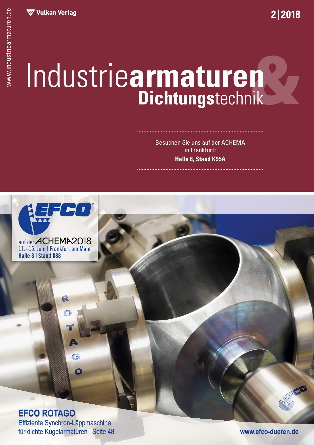 Industriearmaturen – 02 2018