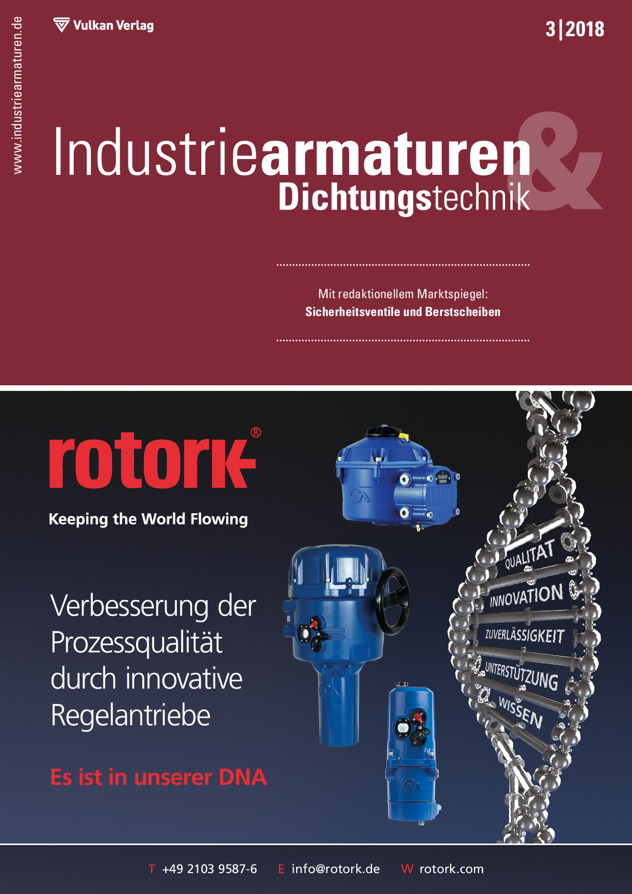 Industriearmaturen – 03 2018