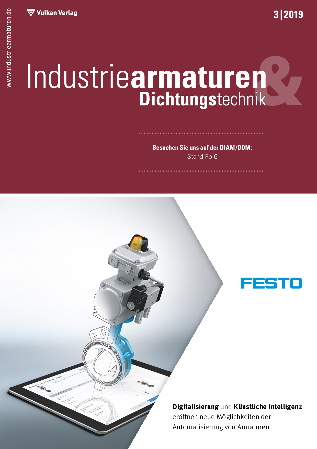 Industriearmaturen – 03 2019