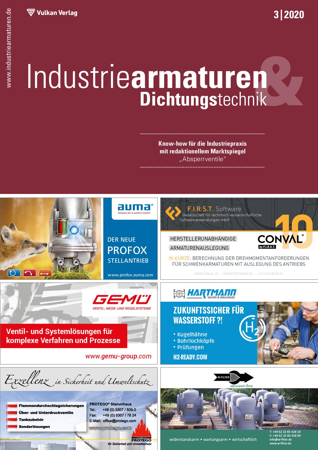 Industriearmaturen – 03 2020