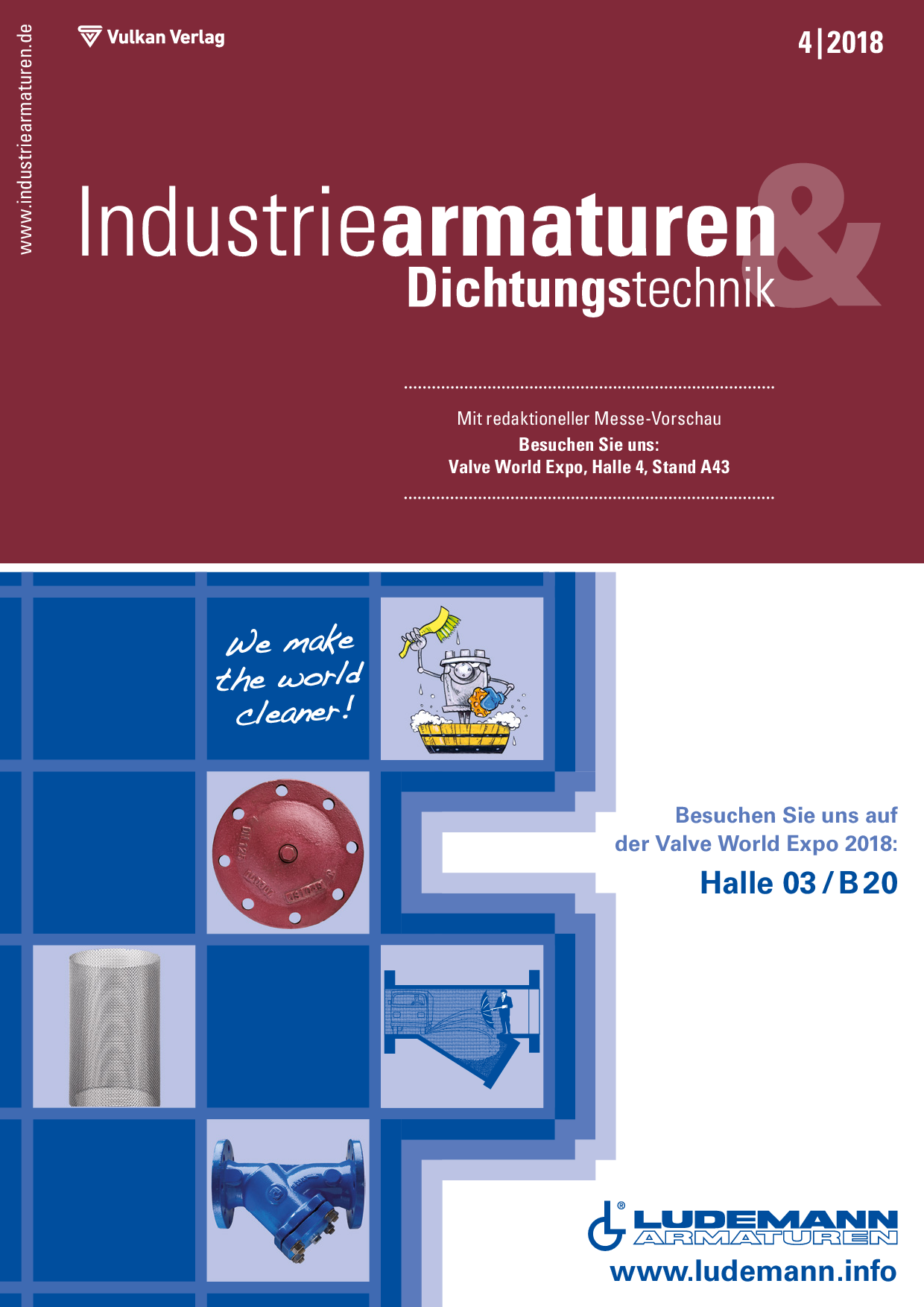 Industriearmaturen – 04 2018