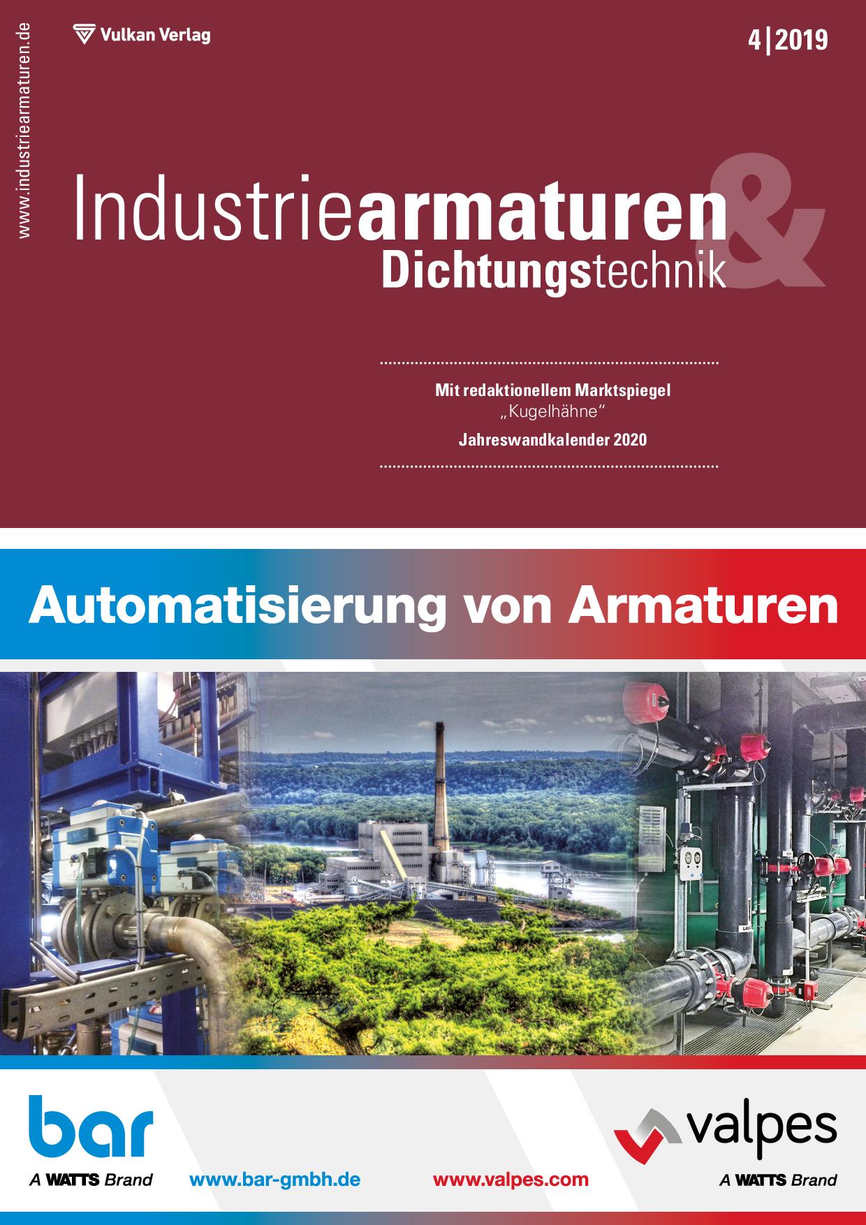 Industriearmaturen – 04 2019