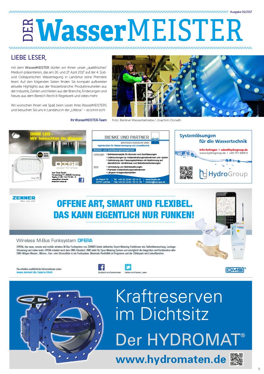 Wassermeister Ausgabe 01 2017