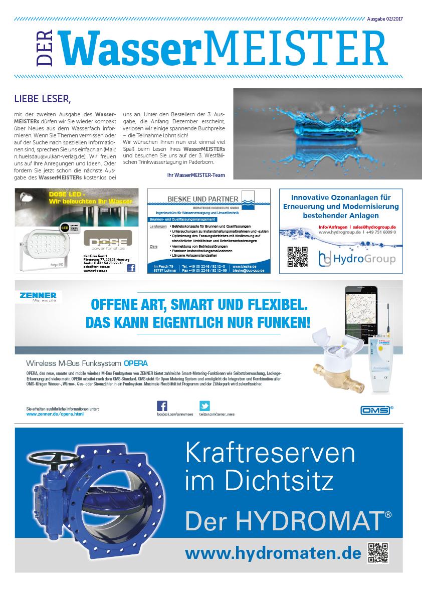 Wassermeister Ausgabe 02 2017