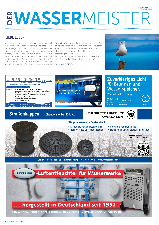 Wassermeister – 02 2021